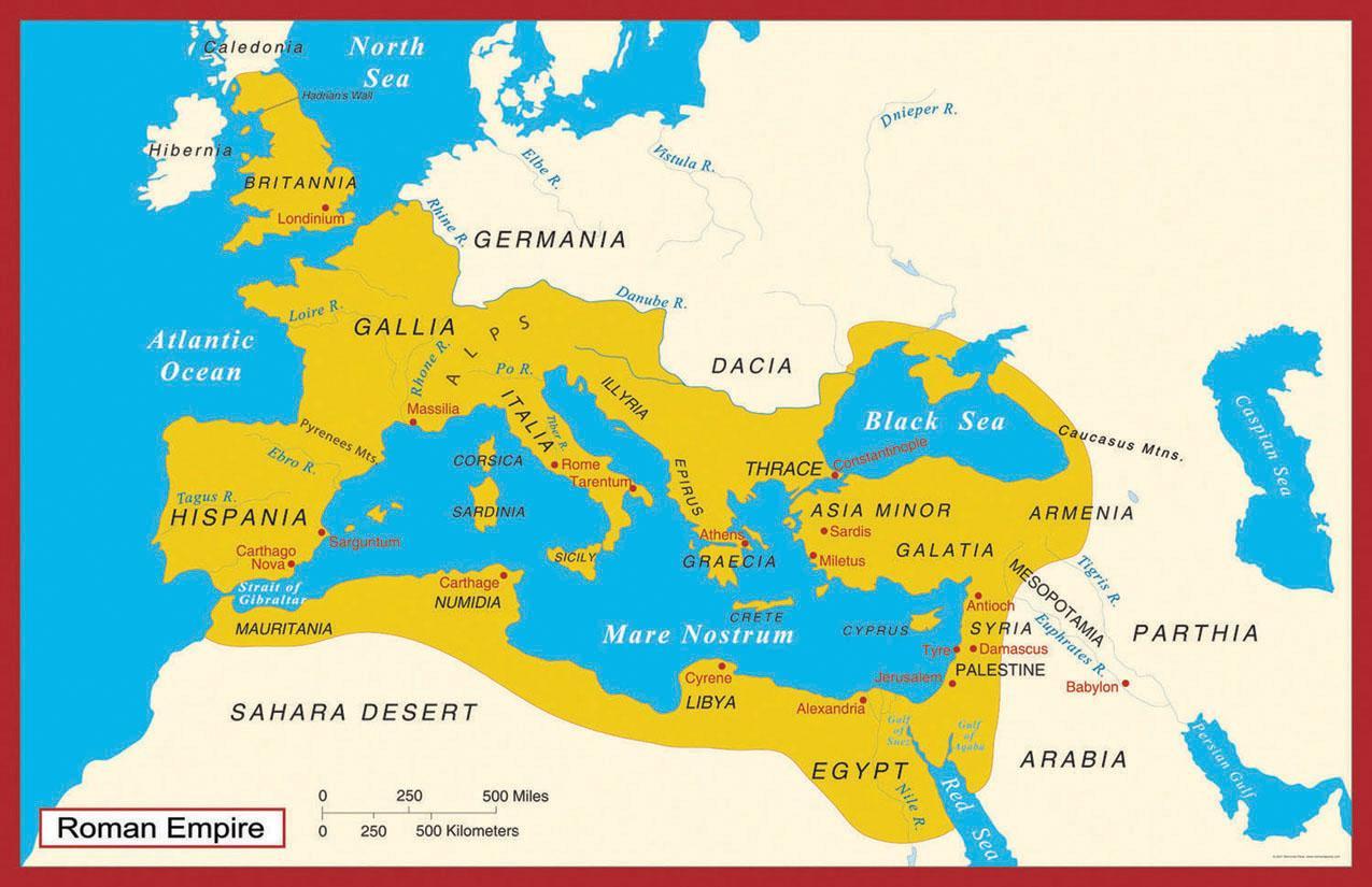 Stara Karta Cipar Drevna Karta Cipra Juzna Europa Europa