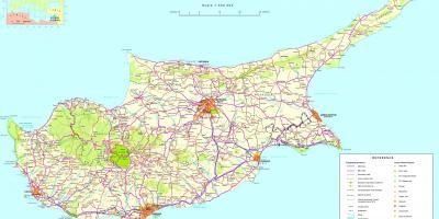 Karta Cipra Kartice Cipra Juzna Europa Europa